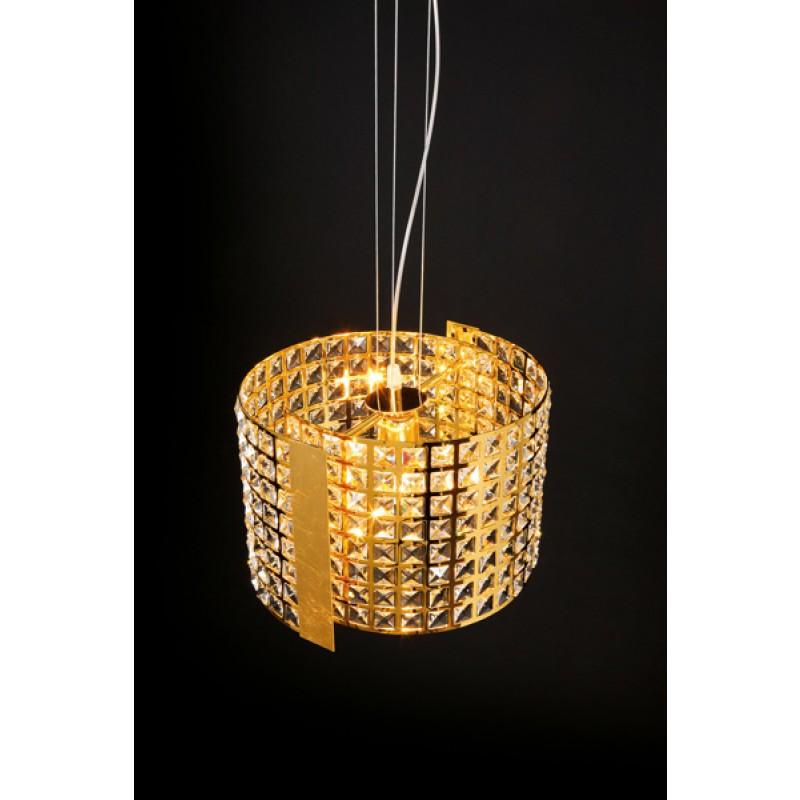 Lampadari a sospensione 2 S con cristalli